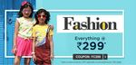 Fashion - Everything @ Rs. 299* at firstcry