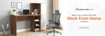 Get Work From Home Furniture @ Upto 70% OFF | Wooden Street