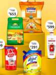 Upto 25% off  + Save 5% off upto Rs 250 on Amazon Grocery via HDFC card every month. Valid Friday - Sunday