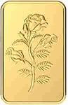 Malabar Gold & Diamonds 24k (999) Rose 2 gm Yellow Gold Bar@below 9500 rs (use bank offer )