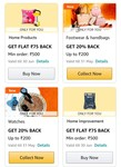 Amazon Collect Offer : 20% Cashback Upto 200 on Footwear Handbags & Watches & More