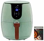 SOLARA Digital Air Fryer for Home Kitchen with 6 Pre set modes for Indian cooking | Deep Fryer without oil, Non Stick Fry Basket + Auto Shut off Feature | 100+ recipe eBook | 2 year warranty