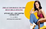 Bras Up to 50% Off + Extra 5% Off(till 5pm)
