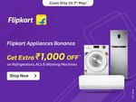 [Myntra Insider] Flipkart Washing Machines and Dishwashers Extra 5% off upto Rs. 1000 off in Exchange of 100 points