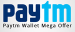 * Pay Rs.5 and get Rs.10 Paytm cash when you transact using Paytm wallet at Meraevents.com