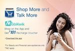 101/- Mobikwik Voucher on Shopping || Amazon App