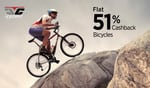 Paytm: Cycles @51% cash back (SH51) || Sports & Gym Nutrition & Sports Equipment @51% cash back