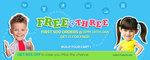 Firstcry : Free @Three (13th Jan)