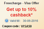 Freecharge : Get upto 10% Cashback on Post-paid & Pre-paid Mobile Bill Payment, DTH, Data Card & Electricity bill