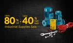 The Industrial Supplies Store - Upto 80% Off + Extra 40% Cashback