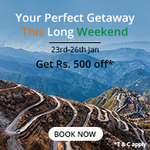 Nearbuy New offer get 500 off on 3999 on Travel