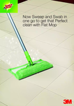 Scotch-Brite Flat Mop and Refill Combo @649/- only (62% off) Mrp 1698 at Amazon