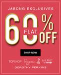 Flat 60% OFF @ Jabong