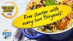 Get 50% cashback on all Biryani Blues Restaurants when you pay via mobikwik
