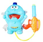 Amazon:  Tickles Blue Doraemon Pressure Water Gun Pitckari Back Holding Tank for Holi With Free Gulal 30 cm @329(75% discount)