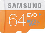 Samsung 64GB Evo MicroSDXC 48MB/s Class 10 worth Rs. 1699 for Rs. 1133 - Infibeam
