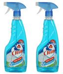 Blue Virgin Plastic Glass Cleaner - Set of 2  @Rs.299/-  (MRP.598)