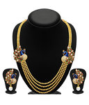 Sukkhi Gold Plated Four Strings Kundan Necklace Set @ 159+40 (MRP-2195)at SNAPDEAL