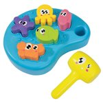 Simba ABC Sea Animal Hammer Bench, Multi Color Mrp Rs899 @Rs.438