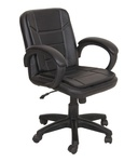 52% Off - Baxton Medium Back Office Chair on Snapdeal at  Rs.2499 MRP Rs.5200 + Free Shipping