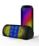 Portronics Glitz 2 Portable Bluetooth LED Multimedia Speaker with NFC @Rs.2399/-  (MRP.4999)