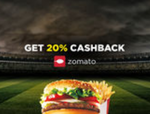 20% cashback on 2nd and 3rd order placed on Zomato through Helpchat