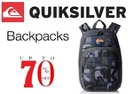 Quiksilver Bags, Backpacks & Wallets 50%-70% Off @Amazon