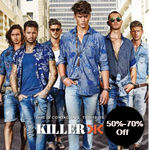 Amazon - Flat 60-70% off on Killer tees (Starting from Rs 239)