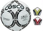 [ CHEAPER THAN LAST FPD ] Cosco Torino Football, 5 (White/Black/Blue/Yellow) Rs 298 At Amazon.in