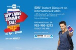 MakeMyTrip 'APP'ENING SUMMER SALE ,Exciting Travel Deals On Mobile App