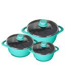 Cheapest Ever || Wonderchef Aqua Marine Ceramide Casserole Set (6 Pcs) @2241 (6500) 66% Off