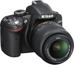 Nikon D3200 (Body with AF-S DX NIKKOR 18-55mm f/3.5-5.6G VR II Lens) DSLR Camera @ 20,499