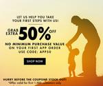 Jabong:- 50% off on 1st App order