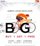 Abof : Buy 1 & Get 1 Free