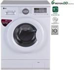 LG 6 kg Fully Automatic Front Load Washing Machine(FH0B8NDL2)- Rs  24722  [ 20 %  off   ] @ flipkart