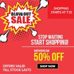 Zotezo Blow Out Sale - Minimum 50% off (Starting Rs 25)