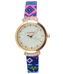 Buy Lamkei White Analog Round Party-Wedding Watch For Rs.289