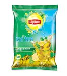 Lipton Iced Tea, Lemon And Mint Green Premix, Pouch, 400g  @Rs.91/-