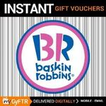 mygyftr : Flat 50% off on baskin robbins gift vouchers