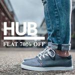 Hub Shoes Flat 70% Off @Amazon