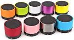 New Imported Mini Bluetooth Wireless Speaker (S10) - Multicolor3@300