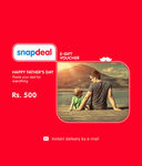 Snapdeal Father Day Gift card - Flat Rs.100 Off