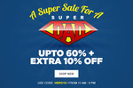 JABONG Upto 60% off + Extra 10% Off : Fathers Day