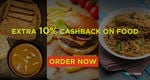 Extra 10% Cashback on all food orders from Zomato on Helpchat