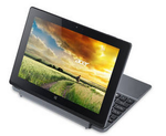 Acer ONE10 S1002 (2 in 1) (Atom Quad Core/2 GB /32 GB eMMC/25.65 cm (10.1)/Windows 10) (Silver)@11192