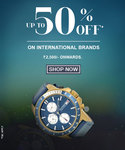 Upto 50% off on Tommy Hilfiger, Police, FCUK & Timberland Watches