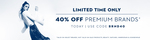 40% OFF on premium brands @Koovs