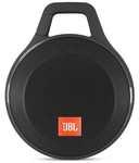 JBL Clip+ Splashproof Portable Bluetooth Speaker (Black)