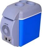 Skys & Ray Cooling & Warming Portable Frigde 7.5 L Car Refrigerator (Blue)