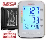 Healthgenie BP Monitor digital Upper arm BPM 04BL Automatic with irregular heart beat indicator